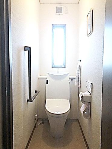 トイレ(LIXILアステオ)のプチリフォーム
