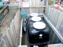 宅内排水設備改修