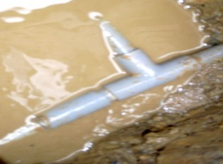水漏れ・排水・つまり(ビフォー)3